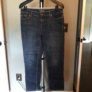 Simply Vera Wang crop jeans